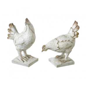 Set of 2 Chickens