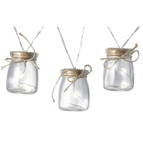 Garland Glass Jar Lights 741035