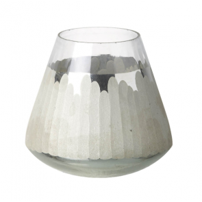 Kata Tea Light Holder Silver