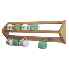 Penny Pine Mug Rack by Somerset Pine