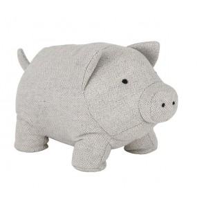 Fabric Pig Door Stop