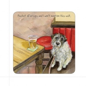 The Little Dog - Pint Coaster