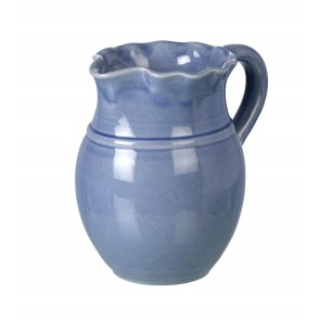 Miel Light Blue Ceramic Pitcher - Handmade Ceramics