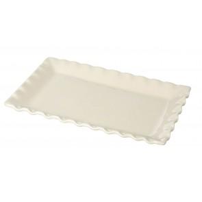 Miel Cream Ceramic Platter Dish - Parlane - 240mm x 390mm
