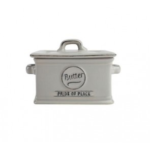 Pride of Place Grey Butter Dish Grey