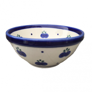 Blueberry Polish Pottery Cereal Bowl by Boleslawiec Pottery