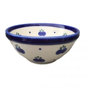 Blueberry Polish Pottery Cereal Bowl by Boleslawiec Pottery