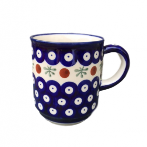 Boleslawiec Straight Sided Mug in Cranberry