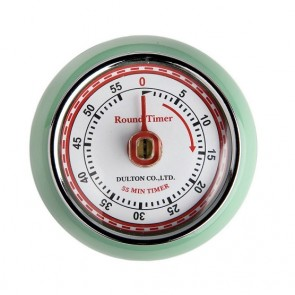 Retro Green 60 minute Kitchen Timer