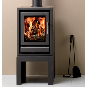 Stovax Riva F40 Stove Midnight Black