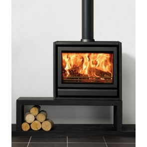 Stovax Riva F76 Stove Midnight Black