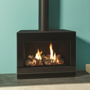 Riva2 670 Glass  Black reeded lining