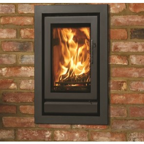 Stovax Riva 45 Black built in fire place