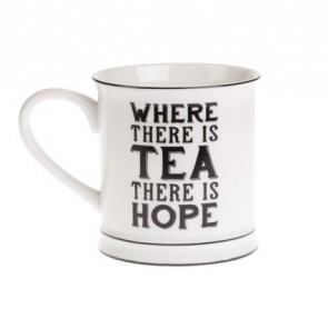 Where there is tea mug