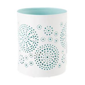 Doily Painted tealight holder