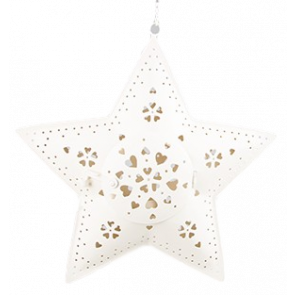 Hanging Star Tealight Holder
