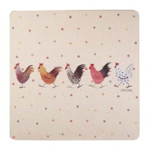 Rooster Place Mats - Set of 4
