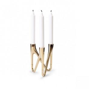 ROOTS Candlestick Holder - Brass