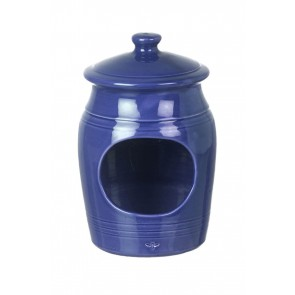 Miel Salt Pig in Dark Blue