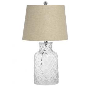 Sancerre Glass Base Table Lamp