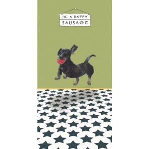 The Little Dog - Sausage Greeting Card