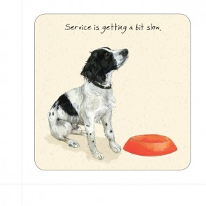 The Little Dog Service Coaster