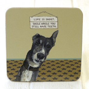 The Little Dog - Smile Coaster