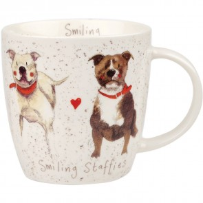 Smiling Staffies Mug