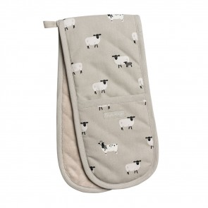 Sophie Allport sheep double oven gloves