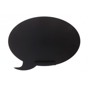 Black Board Speech Bubble