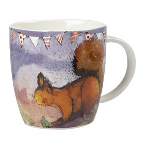 Squirrel Fine China Mug - Alex Clark