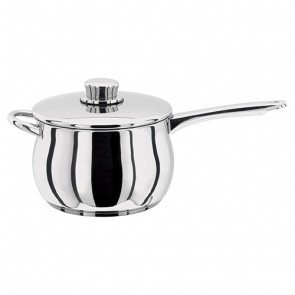 Stellar 1000 Stainless Steel Saucepan with helper handle