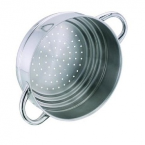 Stellar 1000 stainless steel multi-steamer - will fit onto a 16, 18 or 20 cm pot