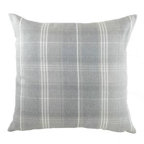 Stirling Check Grey Cushion