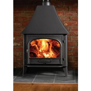 Stovax Stockton 8 stove with high canopy