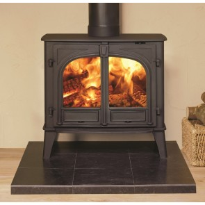 Stovax Stockton 11 Wood burning Two Door  Flat Top