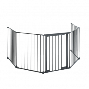 Stovax 5 Piece Fireguard with Gate Access - 1780mm x 610mm