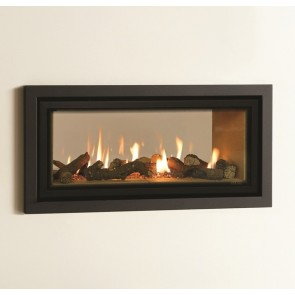 Studio Duplex Anthractie Profil Frame & Vermiculite lining