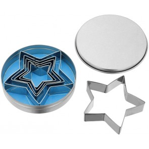 Stainless Steel Star Cutter Set