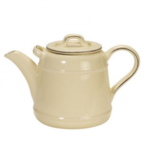 Pride of Place ceramic teapot in old cream