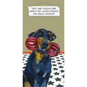 The Little Dog - That Friend Greeting Card