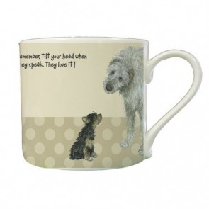 The Little Dog Tilt Head Mug