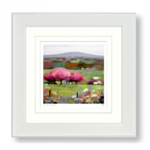Time for Cherry Blossom Framed picture print by Artist Debbie Neil - Artko UK