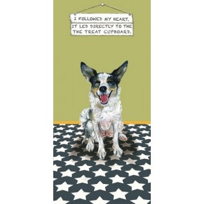 The Little Dog - Treat Cupboard Greeting Card