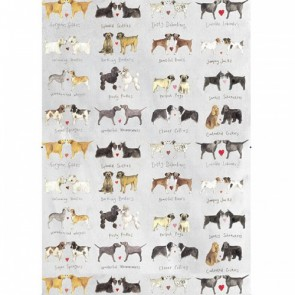 Alex Clark Delightful Dogs 100% Cotton Tea Towels