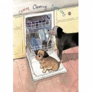 Alex Clark Canine Cleaning 100% Cotton Tea Towel