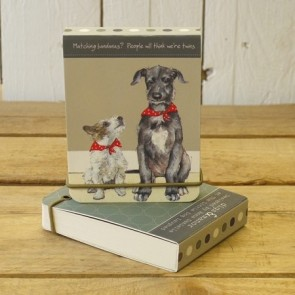 The Little Dog - Twins Note pad