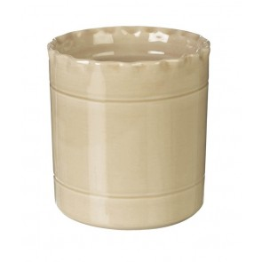 Miel Buttermilk Ceramic Utensil Pot