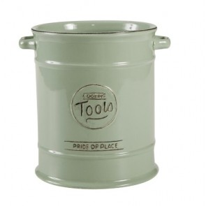 Pride of Place large utensil jar - old green