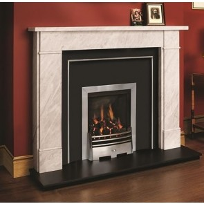 Victorian Classic Fireplace Mantle in Carrara Marble